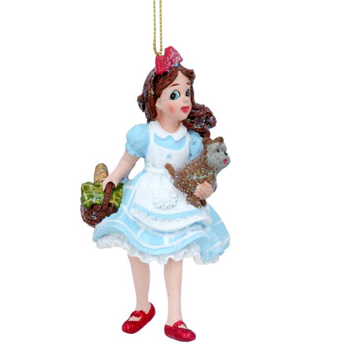 Dorothy Christmas Bauble Gisela Graham - Buy Online UK