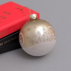 London Scene Christmas Bauble Purchase Online This Christmas