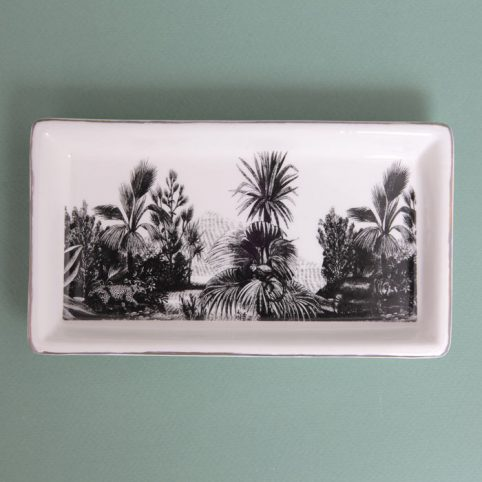 Tropical Landscape Trinket Dish - Buy Online UK