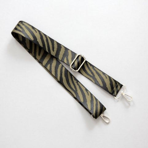 Zebra Print Detachable Bag Strap