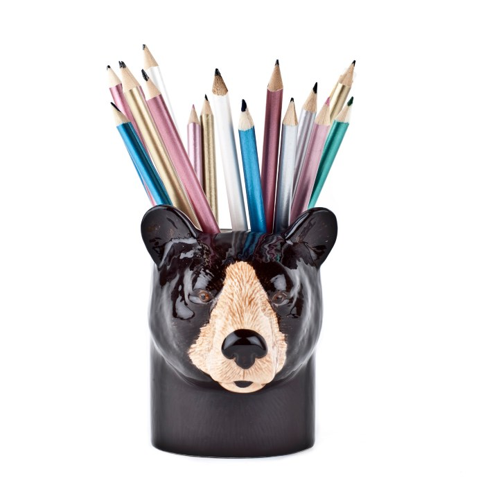 Quail Pen Pot - Bear. Buy Online With Free UK Delivery