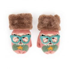 Powder Kids Westie Mittens