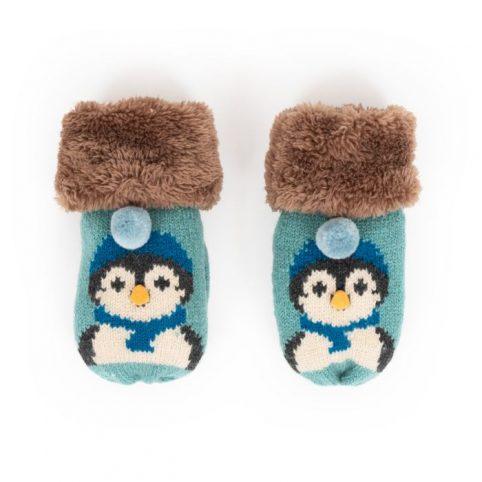 Powder Kids Penguin Mittens
