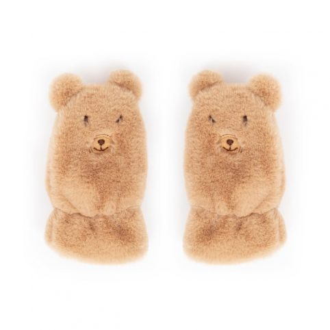 Powder Kids Fluffy Teddy Mittens