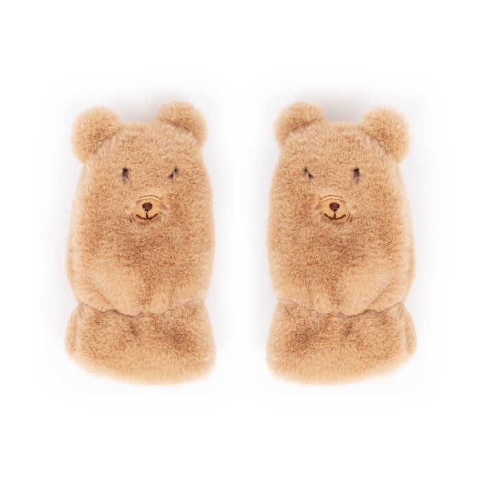 Powder Kids Fluffy Teddy Mittens