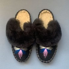 Embroidered Sheepskin Mules - Buy Online With Free UK Delivery