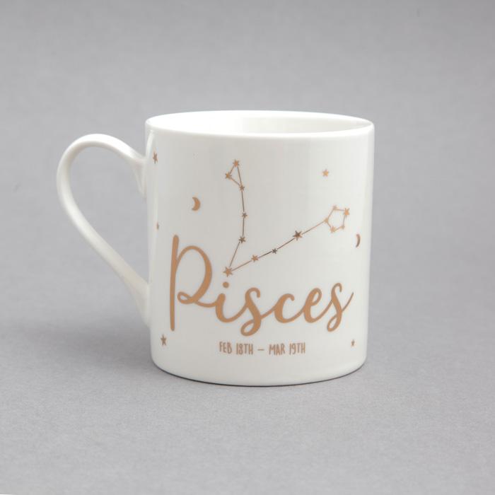 Zodiac Mugs Gisela Graham Pisces