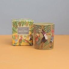Gisela Graham Black Cedar Candle - Buy Online UK