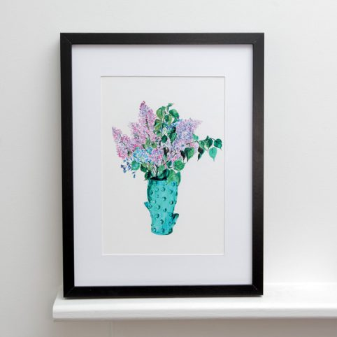 Floral Print Framed - Buy Online UK