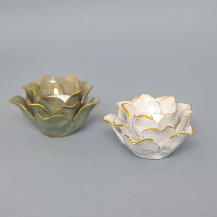Lotus Flower Tealight Holders - Buy Online UK