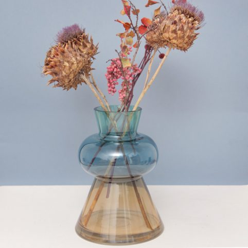 Coloured Glass Vase - Buy Online UK