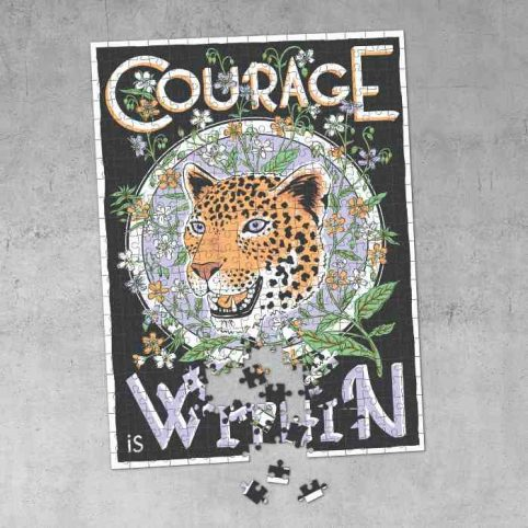 Courage is Within Jigsaw