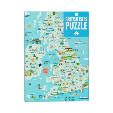 Map Of UK Jigsaw Puzzle
