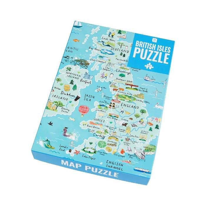 Map Of UK Jigsaw Puzzle