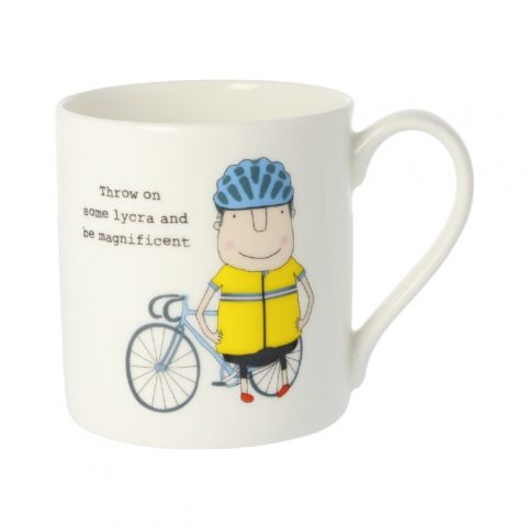 Throw On Some Lycra and Be Magnificent Mug - Buy Online UK