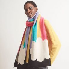 Miss Pompom X Tatty Devine Rainbow Scarf