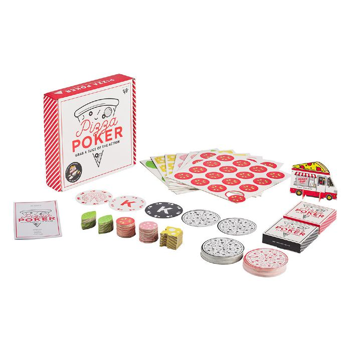 Pizza Poker Set From Yes Studio