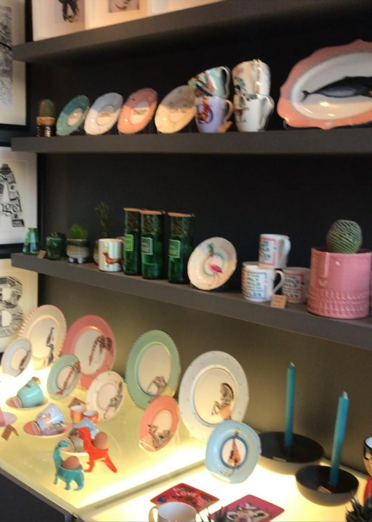 Source Lifestyle London gift boutique Yvonne Ellen tableware