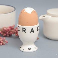 cracking ceramic egg cup - buy online UK