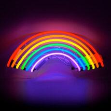 Locomocean Rainbow Neon Light - Buy Online UK
