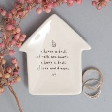 Trinket Dish With Quote - Buy Online UK