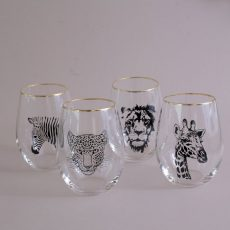 safari tumblers - set of 4 for sale online with free UK delivery