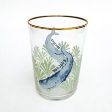 Yvonne Ellen 'Bonjour' Whale Glass Tumbler