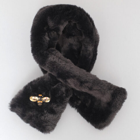 Black Faux Fur Collar - Buy Online UK