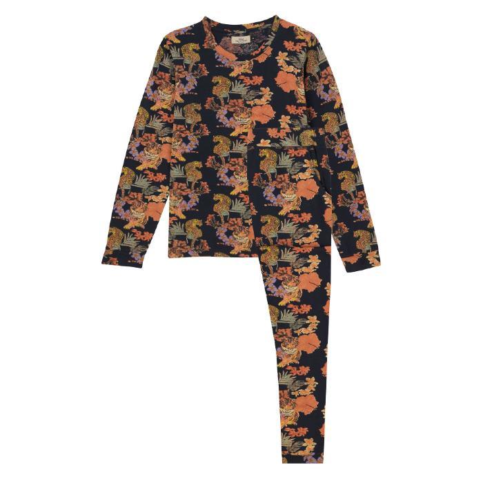 Tiger Print Jersey Pyjamas - Their Nibs