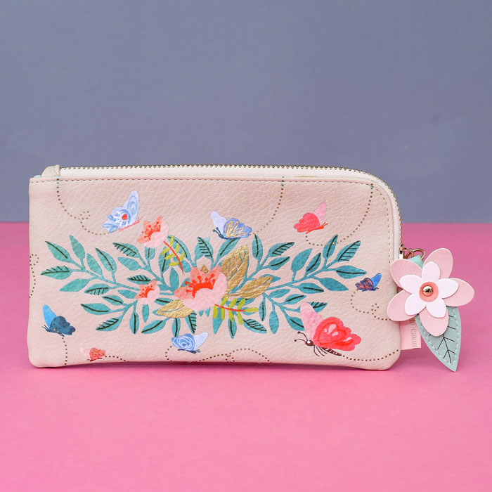 disaster floral make-up bag. Free UK delivery on all orders over £20