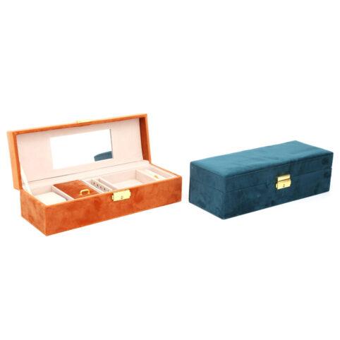 Velvet Jewellery Box Medium Size - Buy online UK
