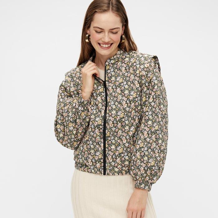 Yas Floral Bomber Jacket - Buy Online UK