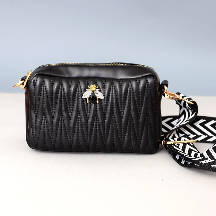 Sixton Cross Body Bag - Made from Vegan leather and the perfect size for day or evening. Buy online with free UK delivery