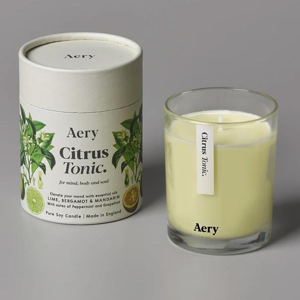 Aery Citrus Tonic Candle - Buy Online UK
