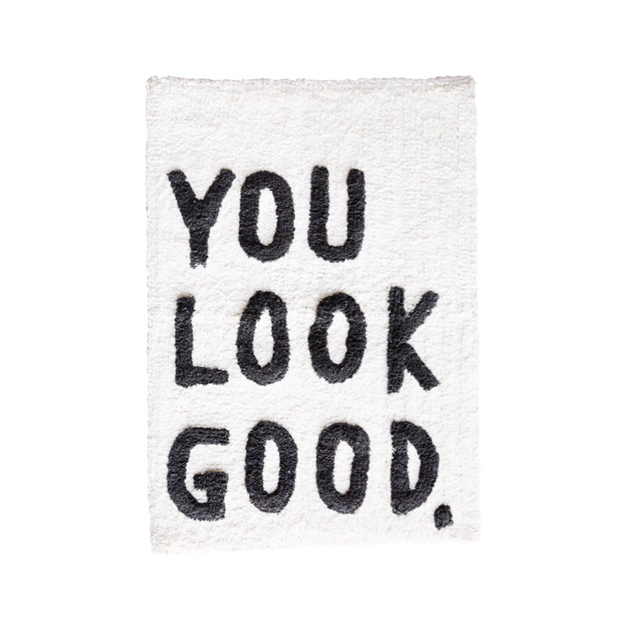 You Look Good Bath Mat - start the day the right way. Buy online UK