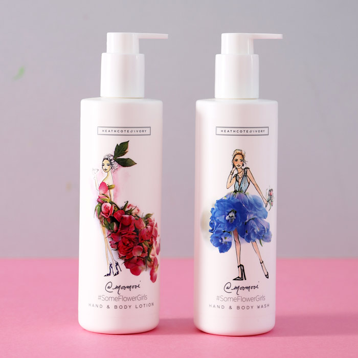 Some Flower Girl Body Lotion and Soap - Buy UK