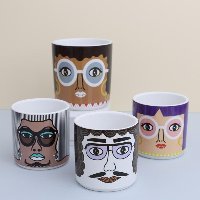 Face Plant Pots - Buy Online UK