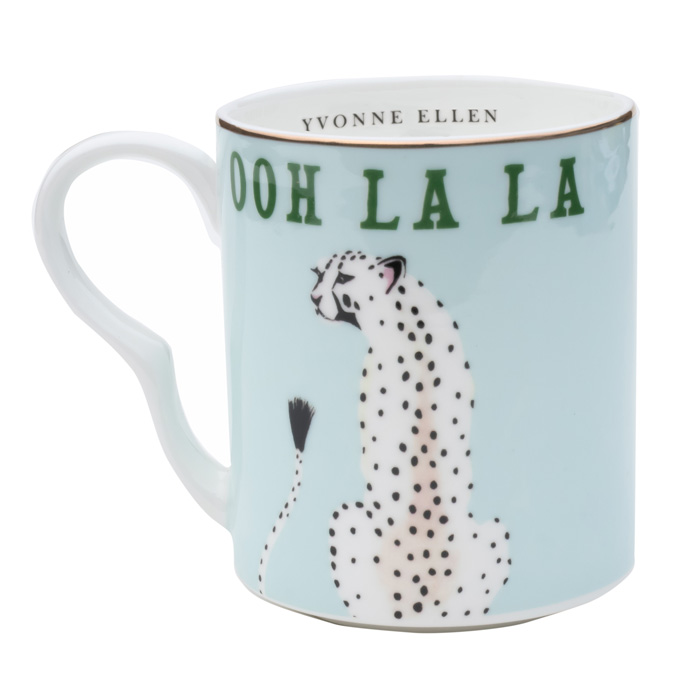 Ooh La La Cheetah Mug - Buy Online UK