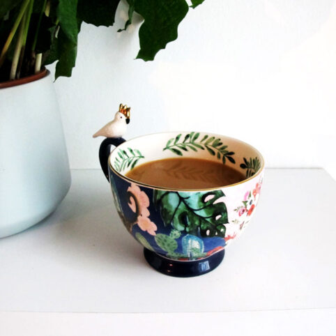frida kahlo cup - oversized. Perfect gift for a Frida Kahlo fan buy online with free UK delivery