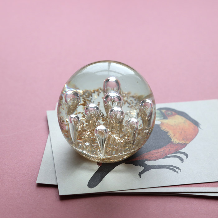 Glass Bubbles Paperweight Parlane - Buy online UK