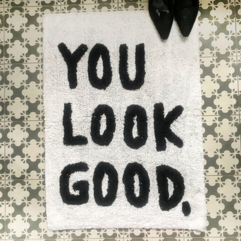 You Look Good Bath Mat - Buy online with free UK delivery over £20