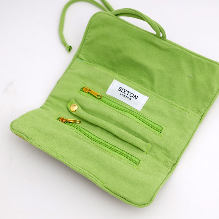 Green Jewellery Roll - Buy Online UK