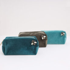 Velvet Make Up Bag - Buy Online UK
