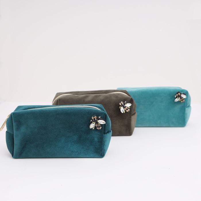 Velvet Make Up Bag - Buy Online UK
