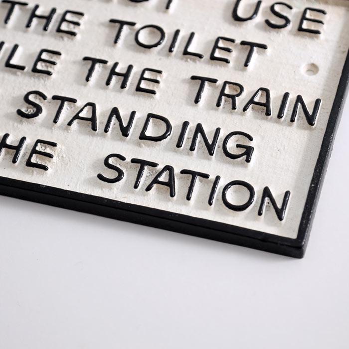 Funny Toilet Sign - Buy Online UK