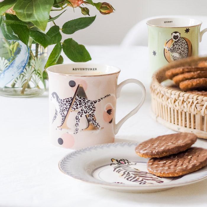Yvonne Ellen Alphabet Mugs- Buy Online UK
