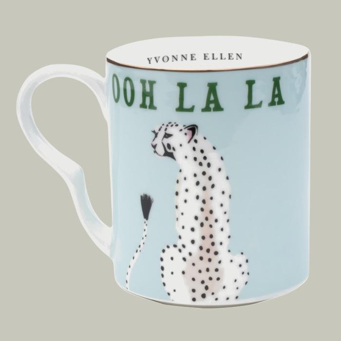 Yvonne Ellen Ooh La La Cheetah Mug