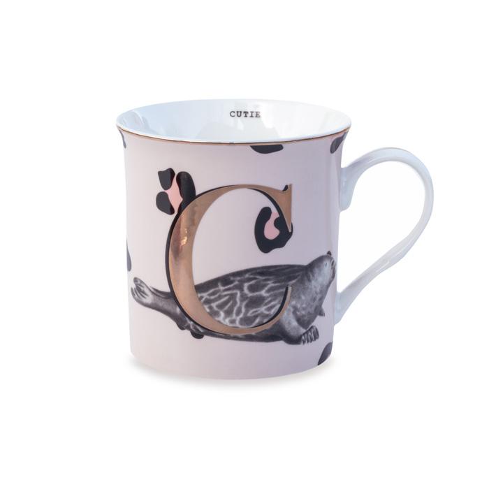 Yvonne Ellen Alphabet Mug - Buy Online UK