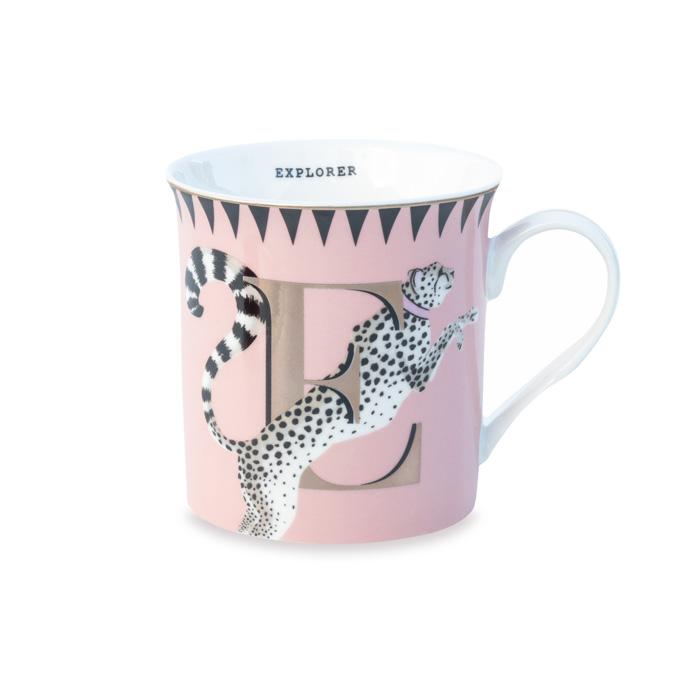 Alphabet Mugs With Cheetah - Buy Online UK