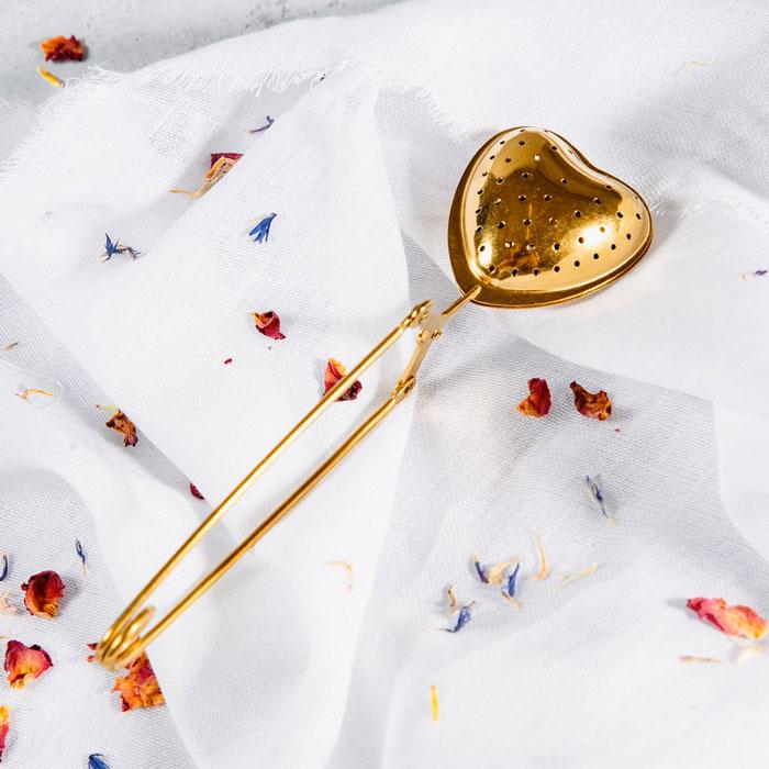 Heart Shaped Tea Infuser - Buy Online UK